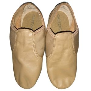 Capezio E Series Jazz Slip On Dance Shoe Leather